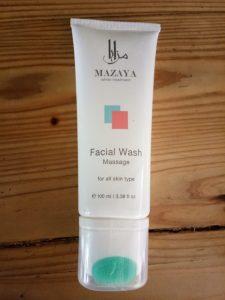 Mazaya Facial Wash Massage