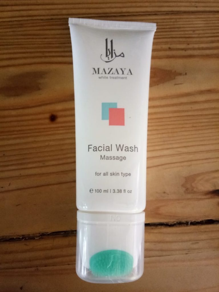 Mazaya Facial Wash Massage