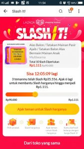 Slash It Lazada 1111