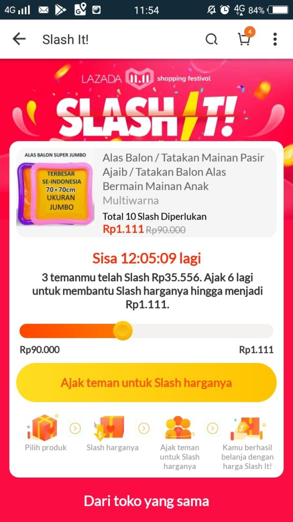 Slash It Lazada 1111