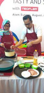 Cara masak Bulgogi dan Ramyeon menggunakan Neoflam