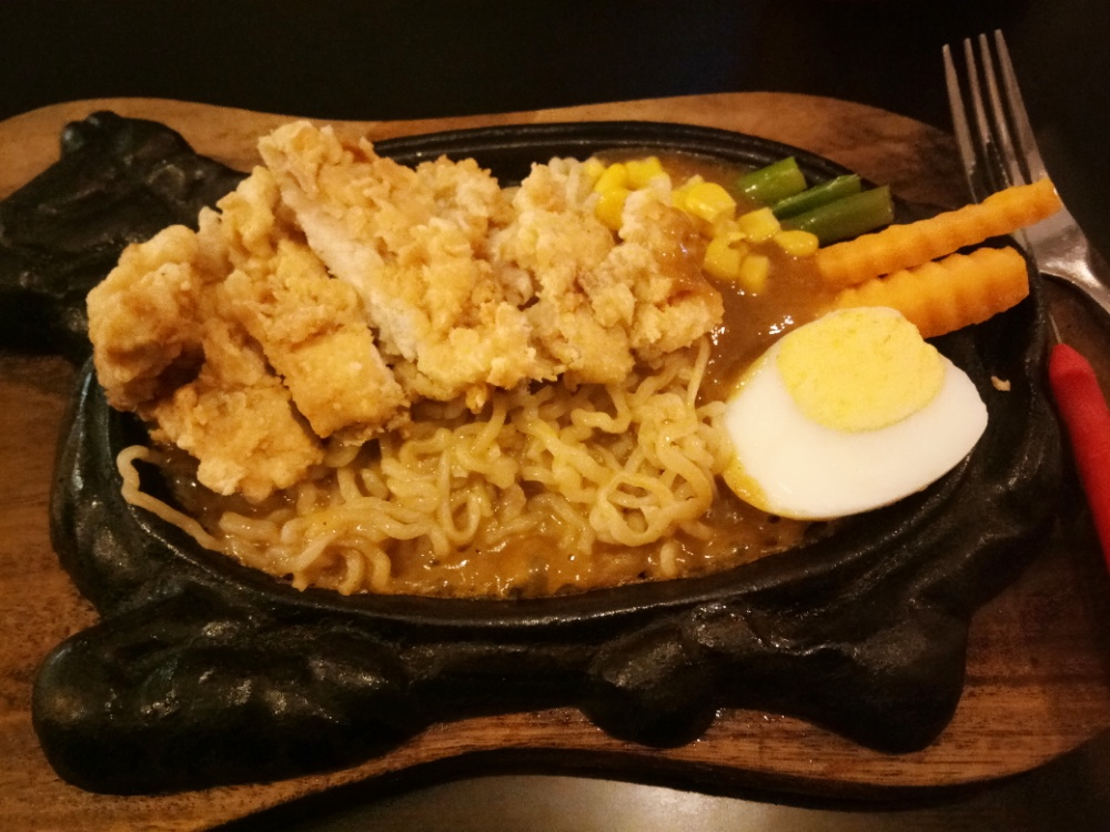 Chicken Steak Noodle yang murah