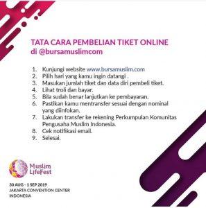 Membeli tiket Indonesia Muslim Lifestyle Festival secara online