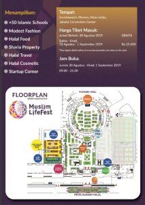 Susunan Denah Stand Indonesia Muslim Lifestyle Festival