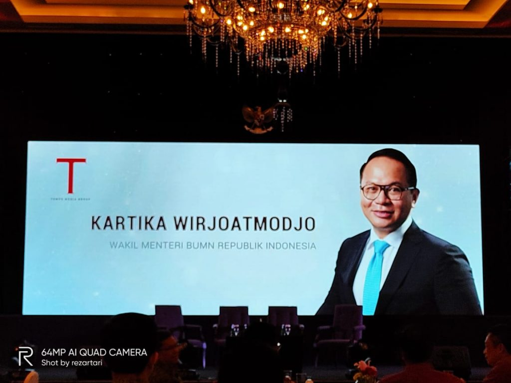 wakil menteri BUMN Kartika Wirjoatmodjo