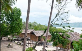 Mandari Homestay at Sawinggrai village on Pulau Gam