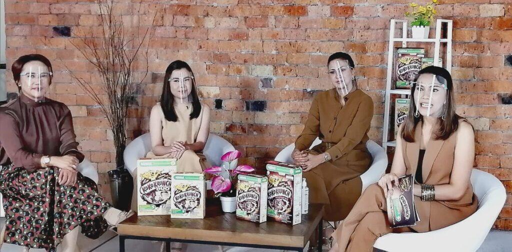 Sarapan sehat untuk anak dengan Koko Krunch Nutrismarta
