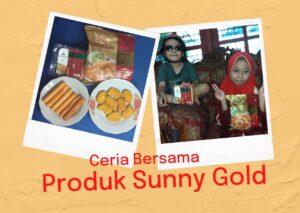 Nuget ayam dan sosis ayam Sunny Gold