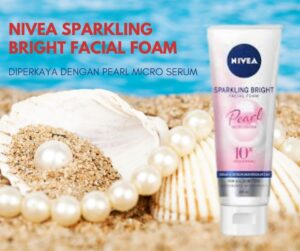 nivea sparkling bright facial foam