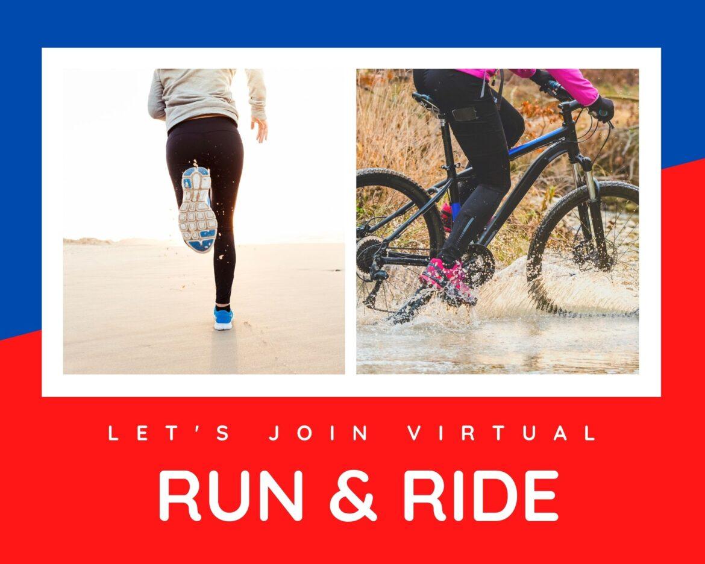 Virtual run and ride